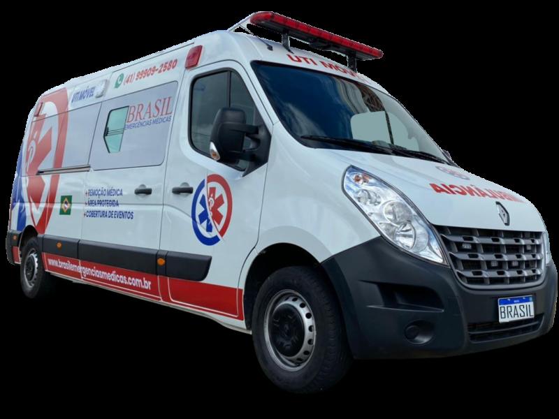 ambulância 24 horas em Curitiba